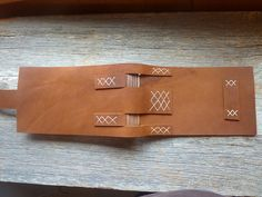 good idea for different scraps Saddle Stitch Binding, Heather Miller, Handmade Books, Leather Journal, Book Binding, Book Nooks, Book Making, Book Art, Notebooks
