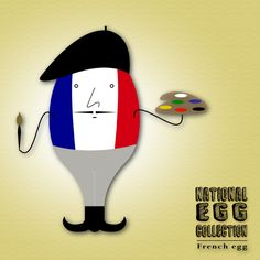 National Egg Collection - French egg
