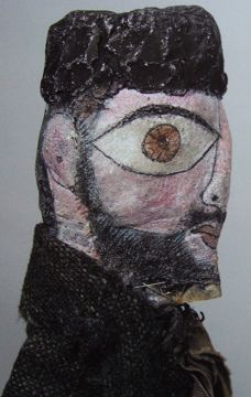 Paul Klee puppet :: self portrait