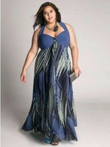 Latest Summer Dresses Fashion Trends for Plus Size Women 12 224x300 ...