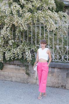Look crop top et pantalon rose   SP4NK BLOG