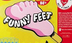 Funny Feet ice cream returns: 10 other retro products now making a comeback 1980s Childhood, My Childhood Memories, Sweet Memories, School Memories, 80s Sweets, 80s Food, Retro Food, Vintage Sweets, Vintage Food