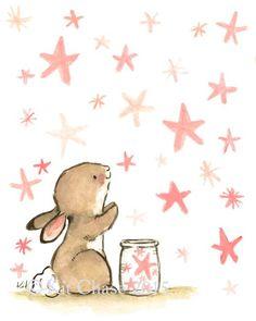 wishing bunny