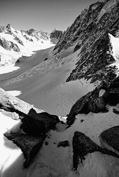 Argentiere, Glacier