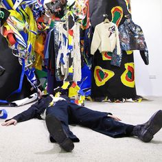 """DOVER STREET MARKET LONDON, UK, """"A fantastical voyeurism into the heart of Charles Jeffrey Loverboy"""", creative by Edward Curtis, pinned by Ton van der Veer"""