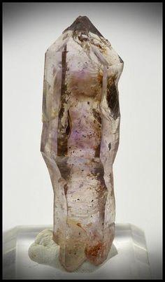 Brandberg Crystal 21.78 g 60.33mm DT Smoky Amethyst Scepter (Self-Healed)