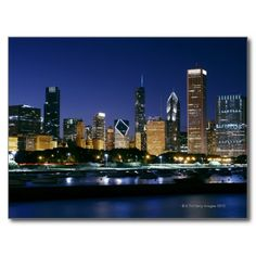 Skyline of Downtown Chicago at night Postcard We provide you all shopping site and all informations in our go to store link. You will see low prices onDiscount Deals          	Skyline of Downtown Chicago at night Postcard Review on the This website by click the button below...