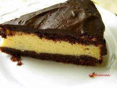 Inedit pentru Paste: Pasca poloneza Caesar Pasta Salads, Torte Cake, Delicious Deserts, I Want To Eat, Biscuits, Cheesecake, Goodies, Favorite Recipes, Homemade