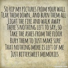 Bittersweet Memories by Bullet For My Valentine. My favorite song, <3