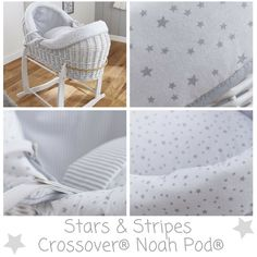 Stars Stripes White Crossover Noah Pod