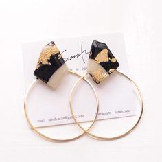 Ceramic Jewelry, Enamel Jewelry, Wooden Jewelry, Resin Jewelry, Custom Jewelry, Handmade Accessories, Handmade Jewelry, Pink Agate, How To Make Earrings
