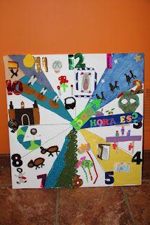 Hispanic culture clock