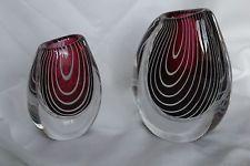 Kosta Boda Zebra vase by Vicke Lindstrand - 1955 - numbered and signed