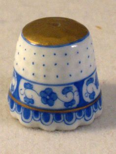 Gorgeous HEREND THIMBLE