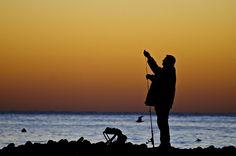 Sitges fisherman