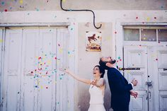 Photo : Floriane caux // confettis wedding