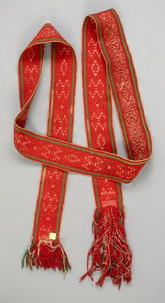 Hopi Woven Belt