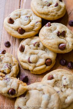 Chocolate chip cookies taken up a notch with an extra egg yolk for chew, cornstarch for softness, and Biscoff spread for incredible flavor! We made it to recipe #10 in my annual Christmas cookie palooza! My kitchen's been in a constant state of mess, red and green sprinkles have been popping up everywhere (in the …
