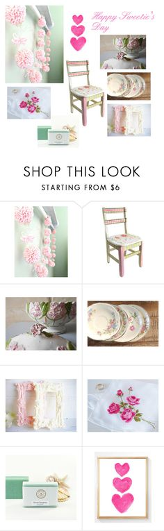 """""""Happy Sweetie's Day"""" by rosebud23834 ❤ liked on Polyvore featuring interior, interiors, interior design, home, home decor, interior decorating and Seaspray"""