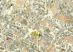 #moleskine #sketchbook - By: Mattias Adolfsson