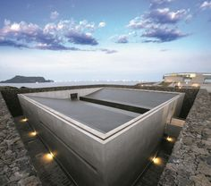 Tadao Ando is a world renowned Japanese Architect. He has designed a number of buildings on Jeju that show off his unique trademarks while incorporati. Colour Architecture, Concrete Architecture, Architecture Details, Interior Architecture, Tado Ando, Shutters For Sale, Genius Loci, Interior Shutters, Japanese Design