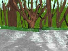 Mindfulness standing meditation: How to stand up * * *  Standing up is second nature, if you're a tree. But as Philip Cowell reflects, mindful standing is a tall order.  http://illustratedguidetolife.com/2014/04/30/standing-meditation-mindfulness-posture/  Trees and a gravel courtyard with a gate and a hedge, Tuscany. Italy