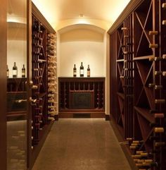 Home wine storage rooms not limited to basement cellars. home-wine-cellars-rooms Caves, Wine Cellar Basement, Home Wine Cellars, Winery Tasting Room, Basement Storage, Storage Room, Grand Cru, Wine Decor, Wine Collection