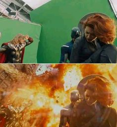 Tricky Special Effects in movies (Chroma key or green screen effect)