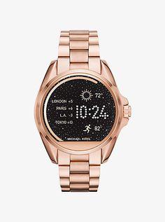 Michael Kors Bradshaw Rose Gold-Tone Smartwatch