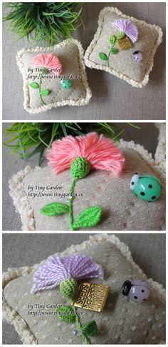 StumpWork by TinyGarden