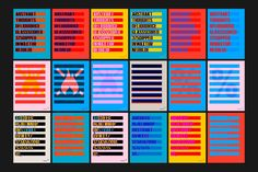 Brand identity and posters designed by O Street for limited edition craft beer concept Abstrakt from Brewdog
