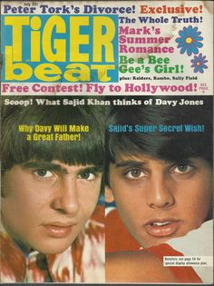 Tiger beat magazine contests and giveaways