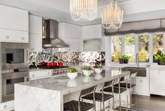Chestnut Hill, MA - contemporary - Kitchen - Boston - Evolve Residential