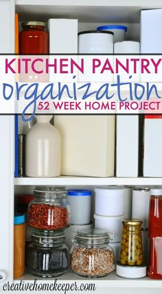 Is your pantry the Bermuda Triangle of the kitchen? Well no more with this step-by-step kitchen pantry organization guide.