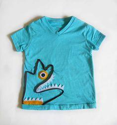 Shwin: Monster Scribble Shirt