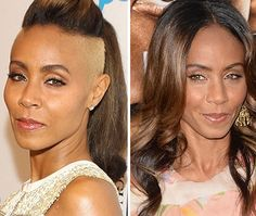 Not sure how we feel about Jada Pinkett Smith and her new do.