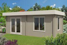 Gartenhaus Orleans-40 ISO - A-Z Gartenhaus GmbH