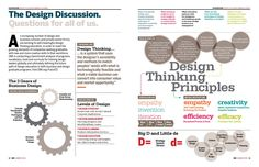 The Design Discussion: Questions for all of us by Tim Brown, Craig Vogel, Heather Frasier, Jeanne Liedtka, & Michael Westcott