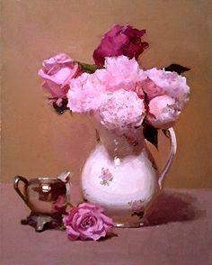 Roses & Peonies by Dennis Perrin