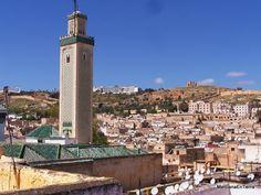 Minarete de la Mezquita Al Karaouine, Fez