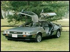 DeLorean! Not exactly the time machine car from Back to the Future, but still pretty cool :D
