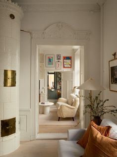 Interior Exterior, Interior Architecture, Interior Design, One Bedroom Apartment, Dream Apartment, Tiny Studio Apartments, Stockholm Apartment, Scandinavian Home, Living Room Inspiration