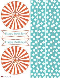 "a ""Happy Birthday"" party printable"