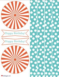 Happy Birthday Printable