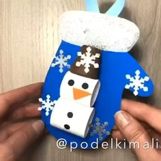 Christmas winter paper crafts for kids snow man - Paper christmas winter crafts for kids snow man - Paper Crafts For Kids, Christmas Crafts For Kids, Christmas Activities, Kids Christmas, Diy For Kids, Holiday Crafts, Christmas Ornaments, Toddler Crafts, Preschool Crafts