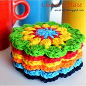 Ravelry: Grandma's Knickknacks Coasters pattern by Laurel Runnels