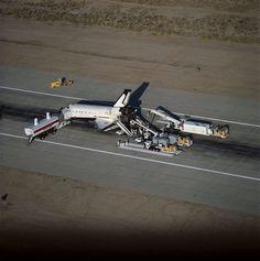 NASA Space Shuttle Offloading