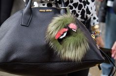 The New Crazy Fashion Trend: Fendi's Fur Bugs Hang From Your Handbag | StyleCaster
