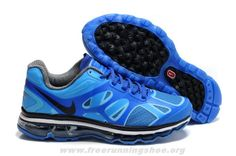 2014 Blue Black Nike Air Max 2012 487982-301 Mens