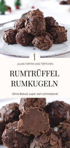 balls or rum truffles - Rum balls or rum truffle recipe for creamy and delicately melting rum balls without biscuit. Super -Rum balls or rum truffles - Rum balls or rum truffle recipe for creamy and delicately melting rum balls without biscuit. Rum Recipes, Keto Recipes, Cake Recipes, Dessert Recipes, Rum Balls, Dessert Simple, Rum Truffles, Truffle Recipe, Vegetable Drinks